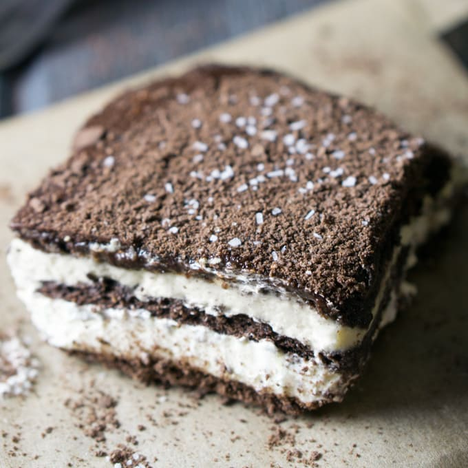 Mexican Chocolate Icebox Cake