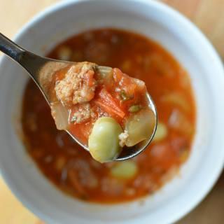 Italian Sausage Tomato Soup