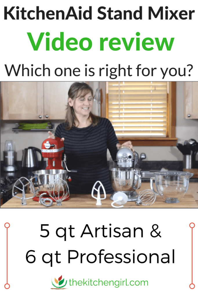 Kitchenaid Stand Mixer Artisan Vs Professional 600 Video