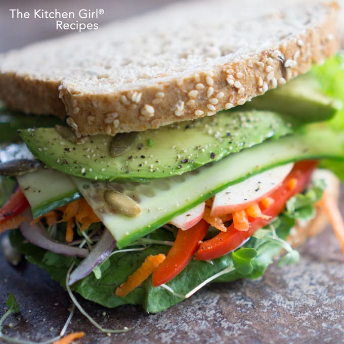 The Vegan Veggie Sandwich Even Meat Eaters Love: Vegetarian Sandwiches