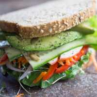 The Vegan Veggie Sandwich Even Meat Eaters Love