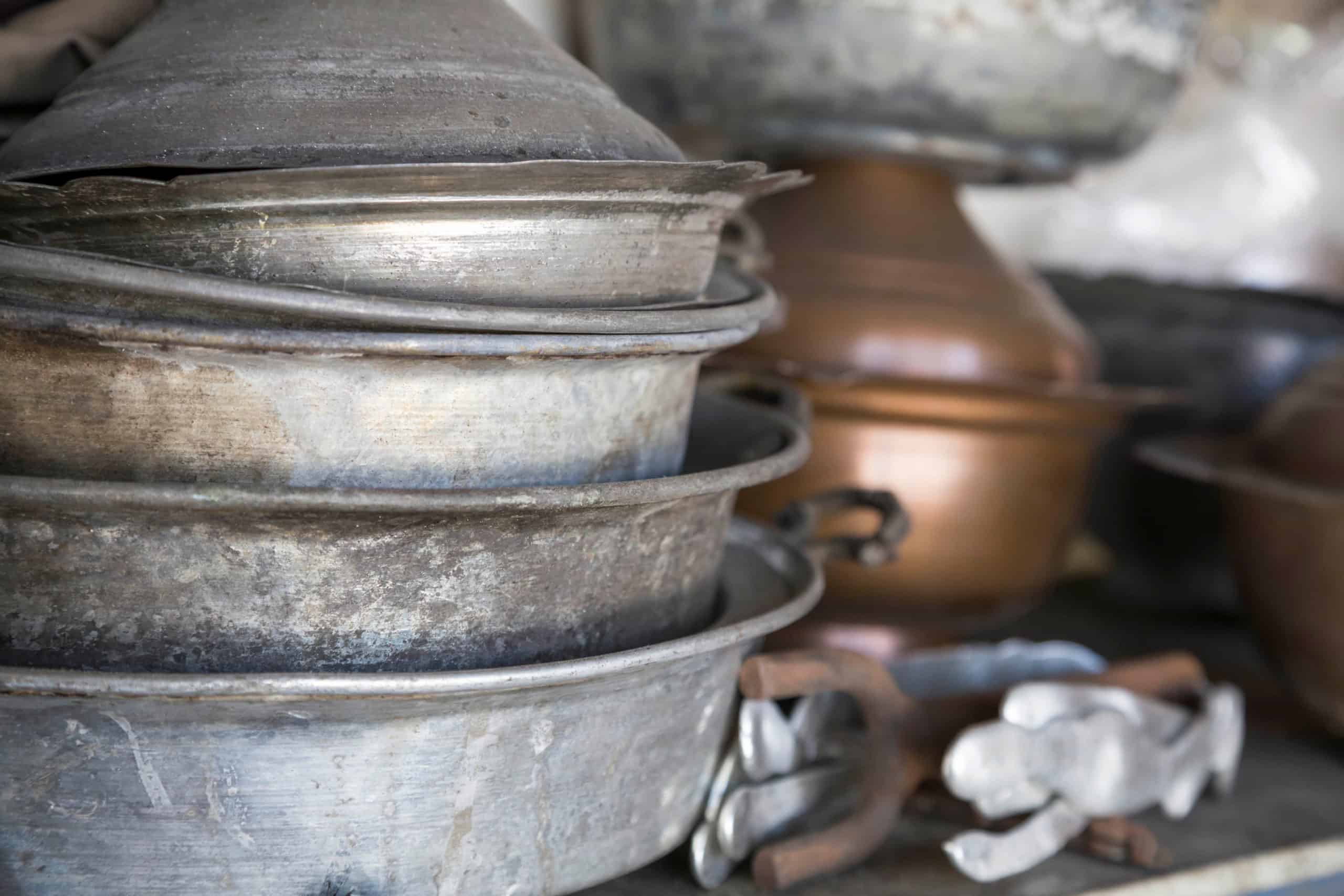 What to do with old pans