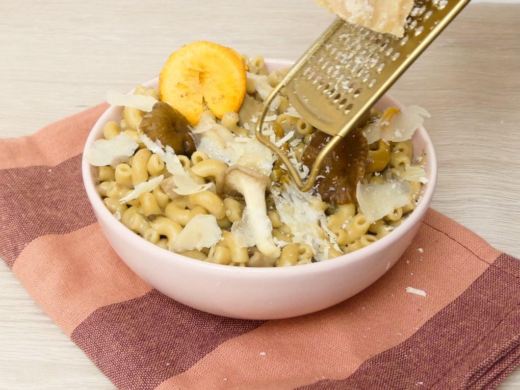 Risotto de coquillettes aux champignons (6)