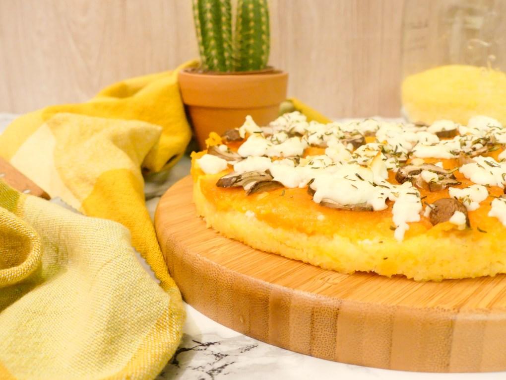 Pizza polenta butternut champignon (5)