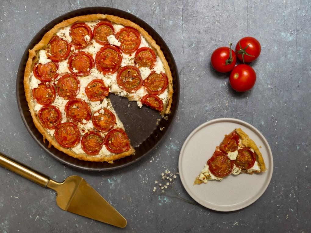 Tarte chèvre tomates (3)