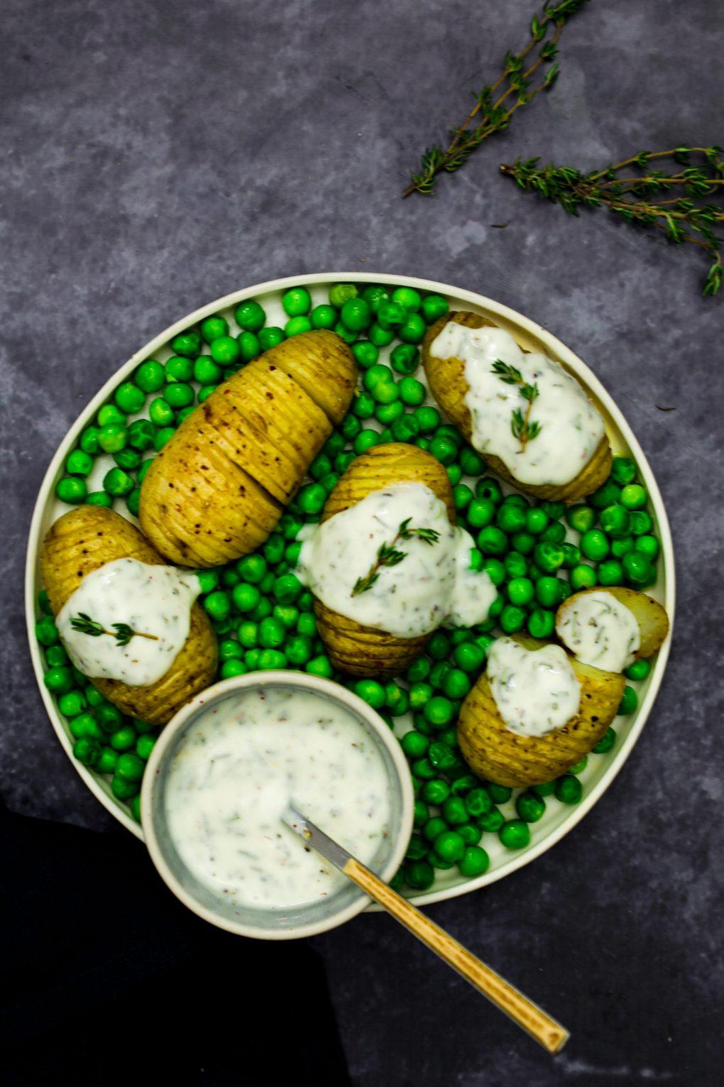 Pommes de terre Hasselback (4)