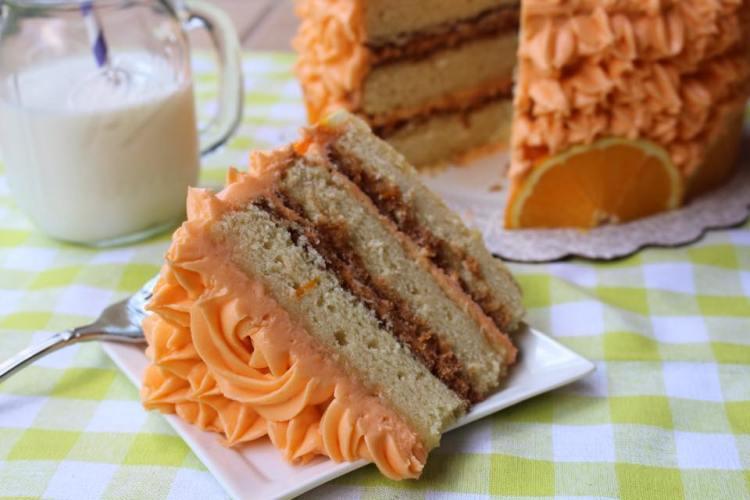 Orange Crunch Cake1