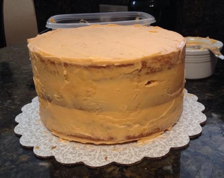 Orange Crunch Cake5