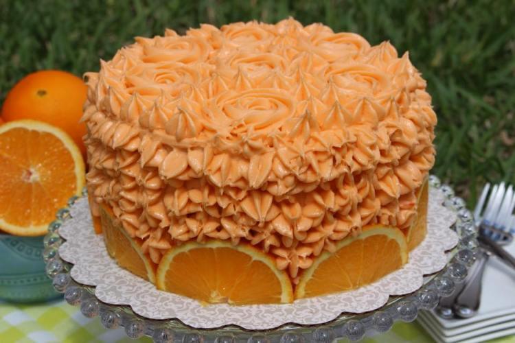 Orange Crunch Cake7