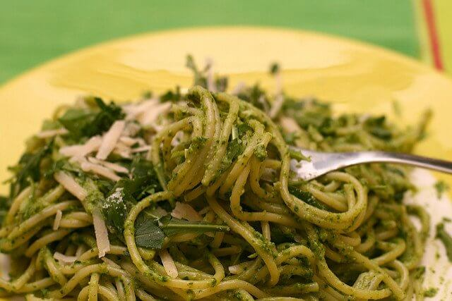 What will you use your pesto for? Pasta, pizza, or paninis?