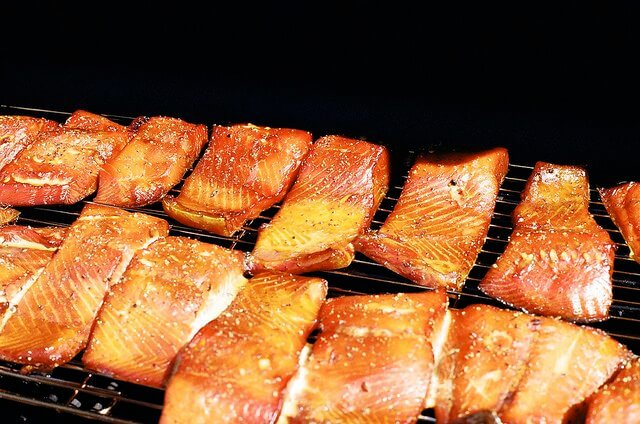 You could buy your salmon pre-smoked, but where's the fun in that?
