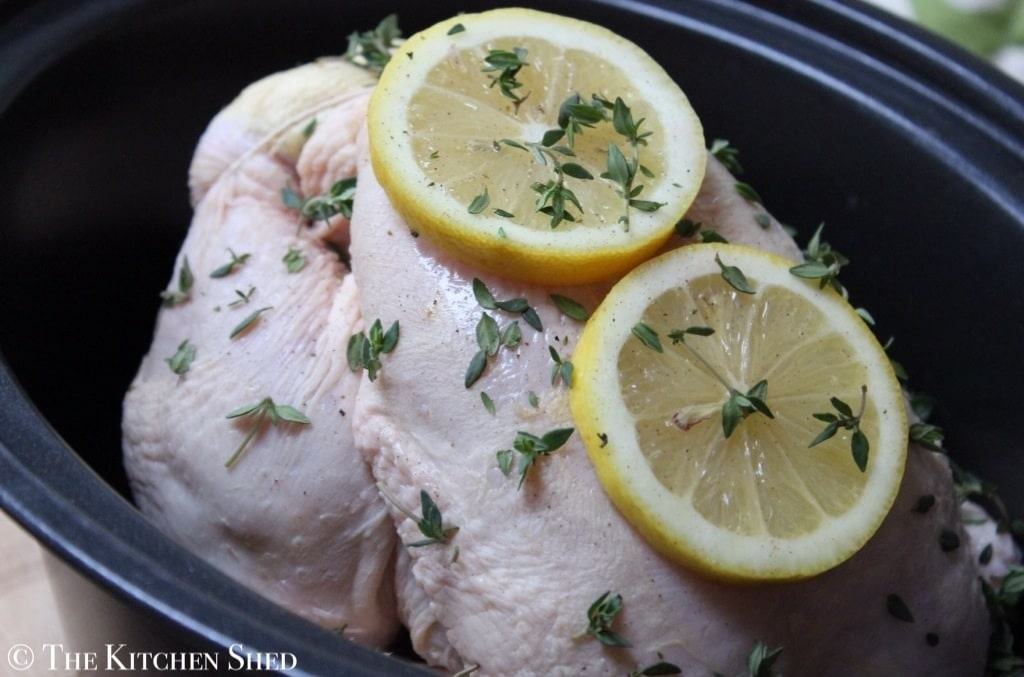 Slow Cooker Whole Chicken 1