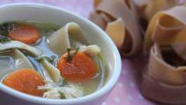 Clean Eating Chicken Noodle Soup