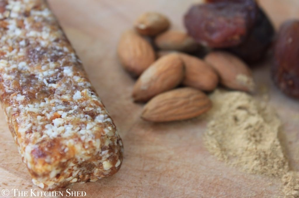 The Kitchen Shed - Clean Eating Ginger Warrior Bars