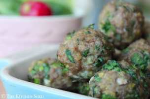 Clean Eating Turkey Meatballs