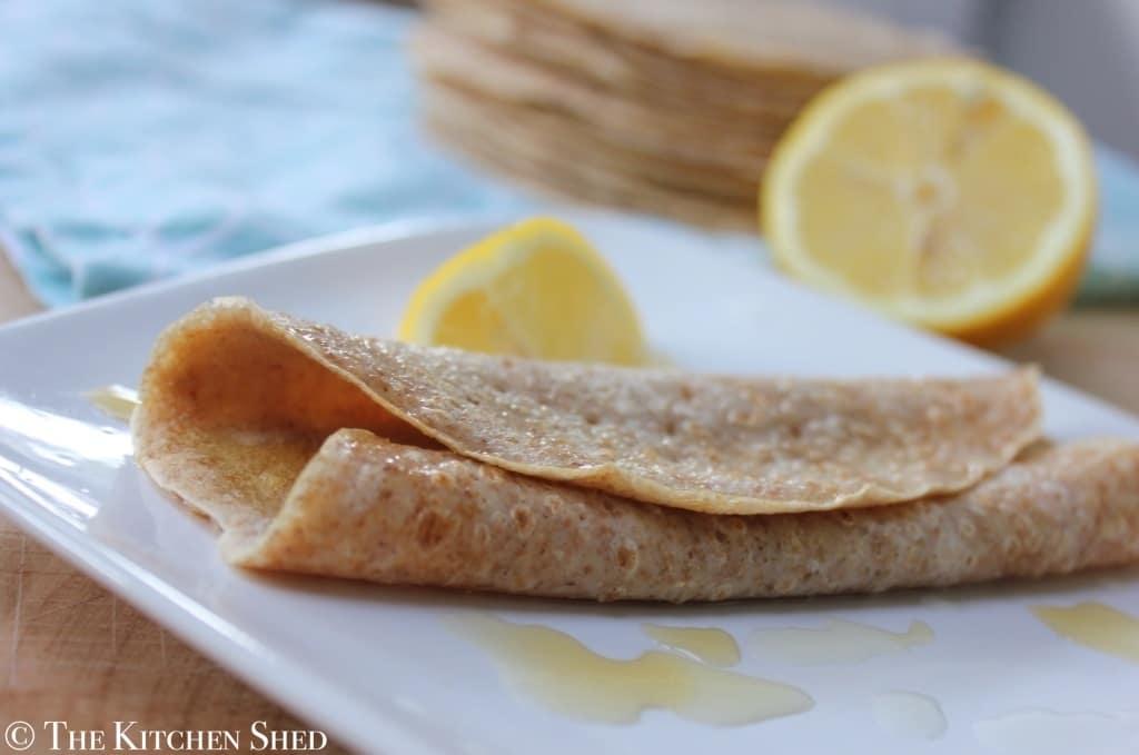 Clean Eating English Pancakes