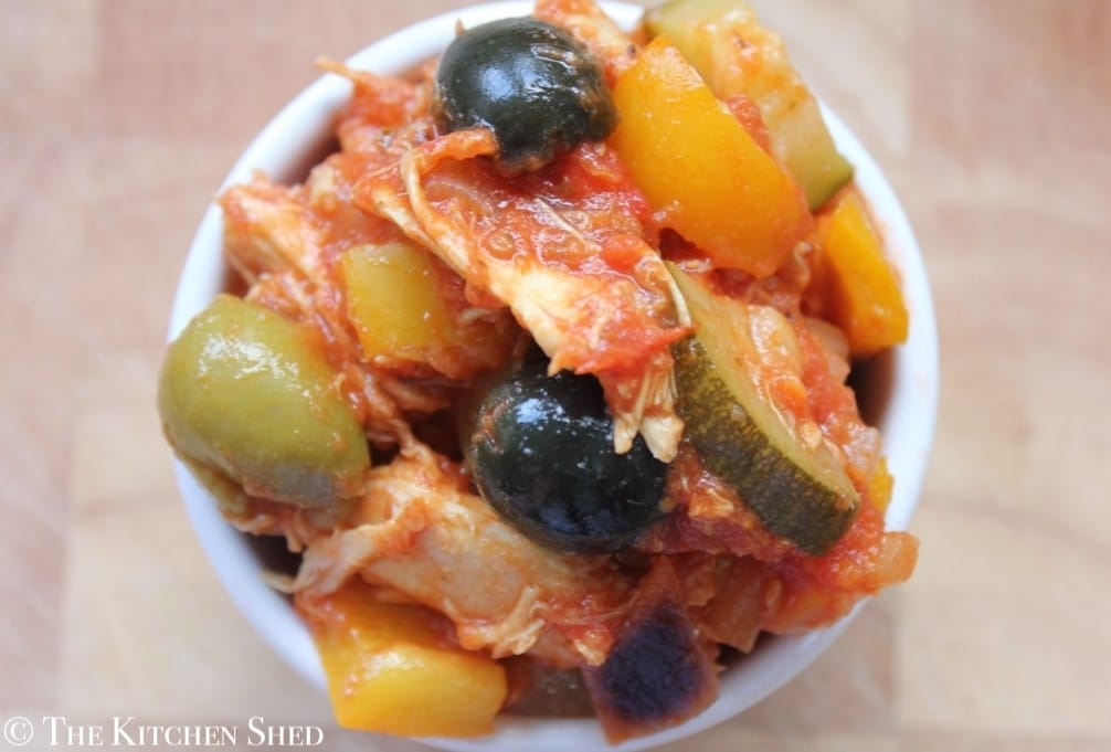 The Kitchen Shed - Clean Eating Spanish Chicken