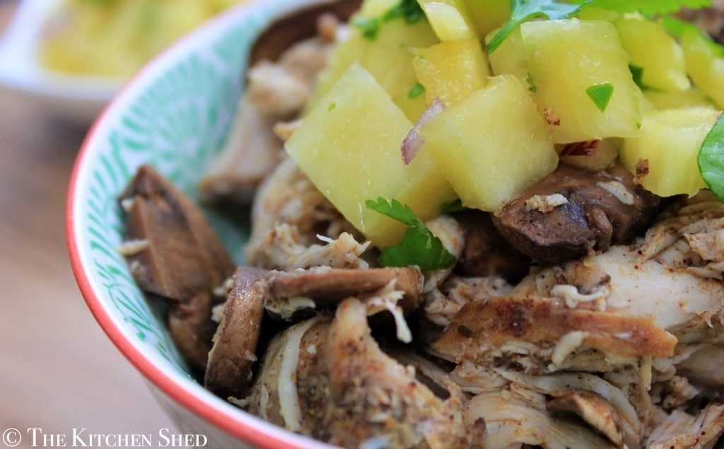 Clean Eating Slow Cooker Jamaican Jerk Chicken - The Kitchen Shed