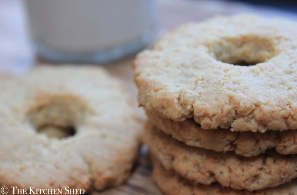 The Kitchen Shed - Clean Eating Coconut Ring Cookies