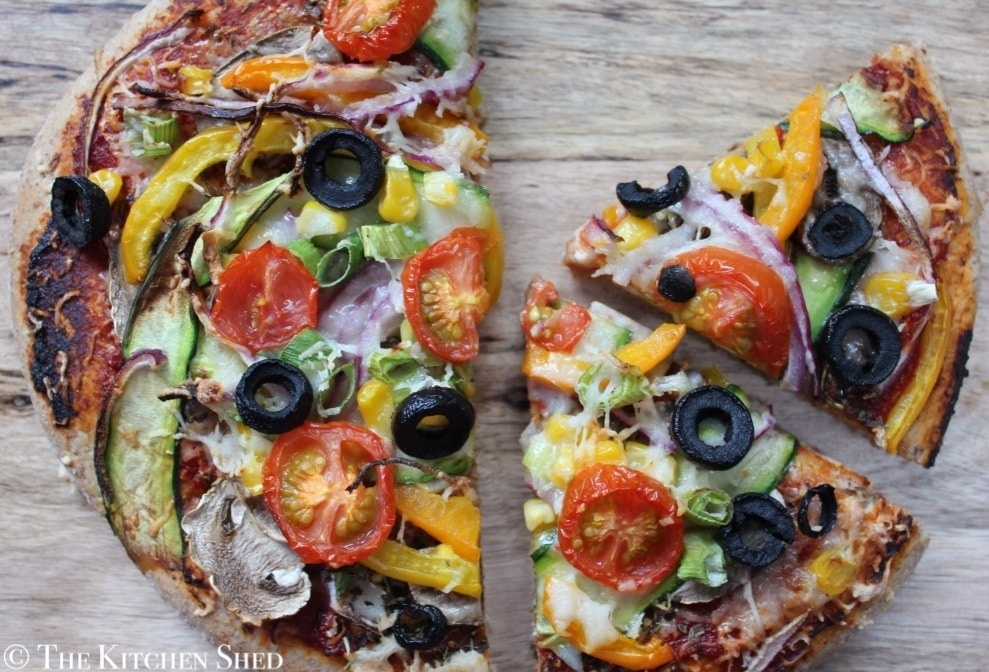 Clean Eating Wholemeal Pizza