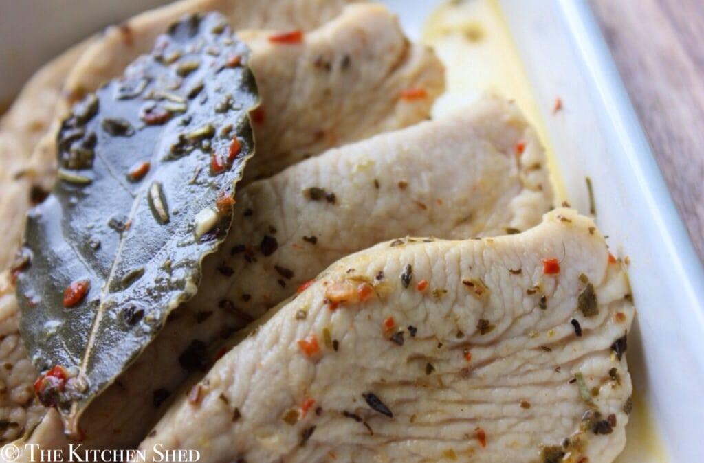 Clean Eating Lemon & Chilli Turkey