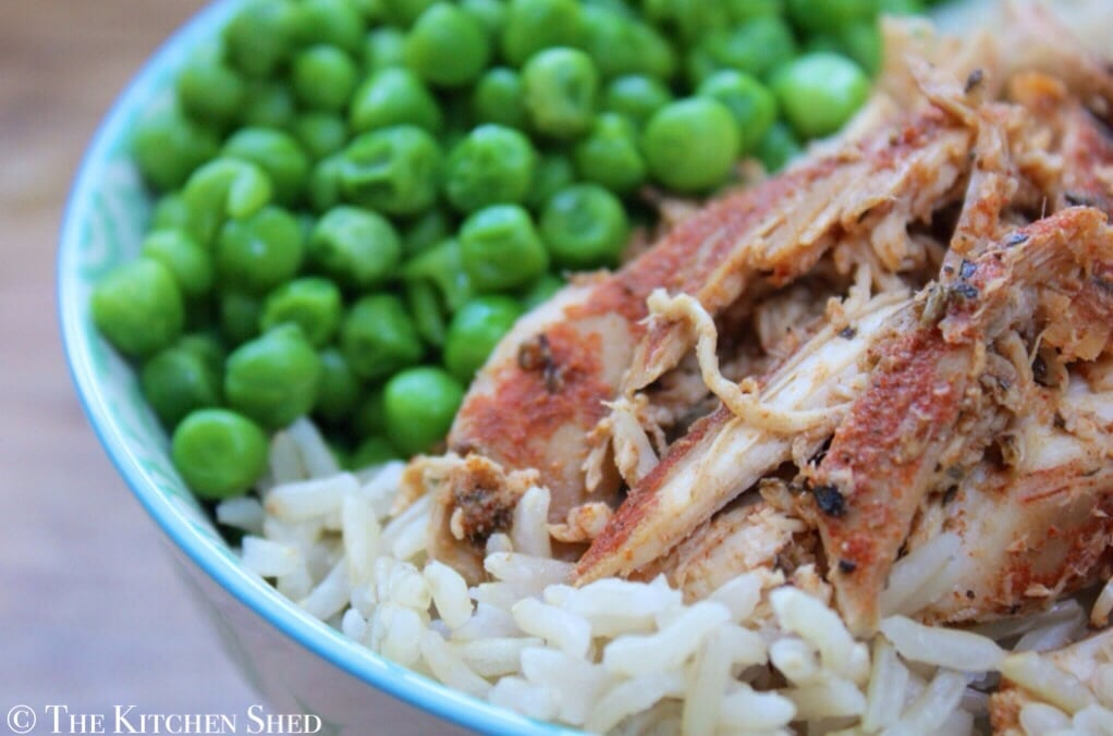 Clean Eating Slow Cooker Cajun Chicken
