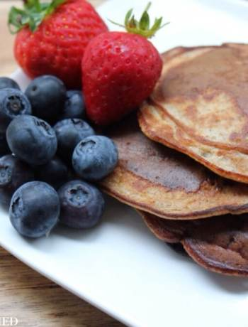 Clean Eating Gluten Free Pancakes 2