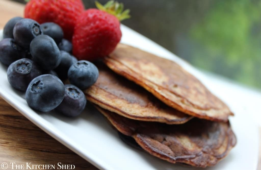 Clean Eating Gluten Free Pancakes