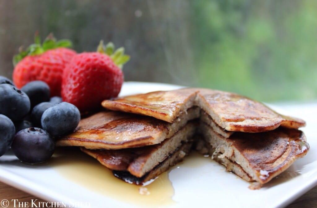 Clean Eating Gluten Free Pancakes