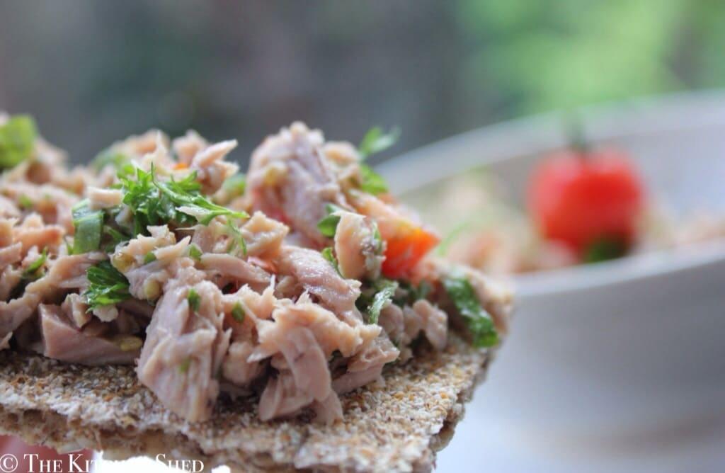 Clean Eating Tomato & Herb Tuna Salad