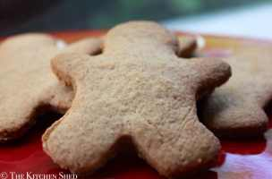 Clean Eating Gingerbread Men