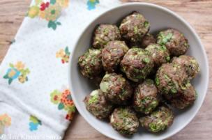 Clean Eating Turkey Lettuce Meatballs