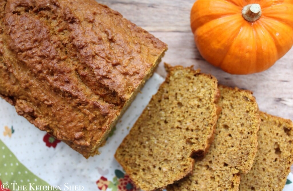 Clean Eating Pumpkin Bread