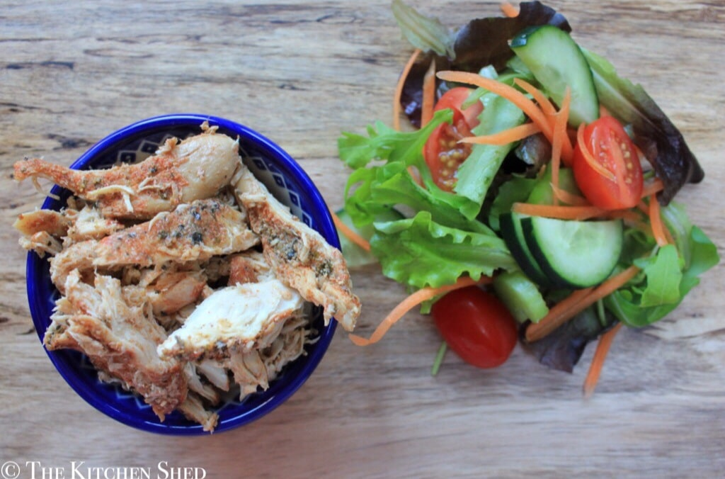 Clean Eating Slow Cooker Mexican Chicken