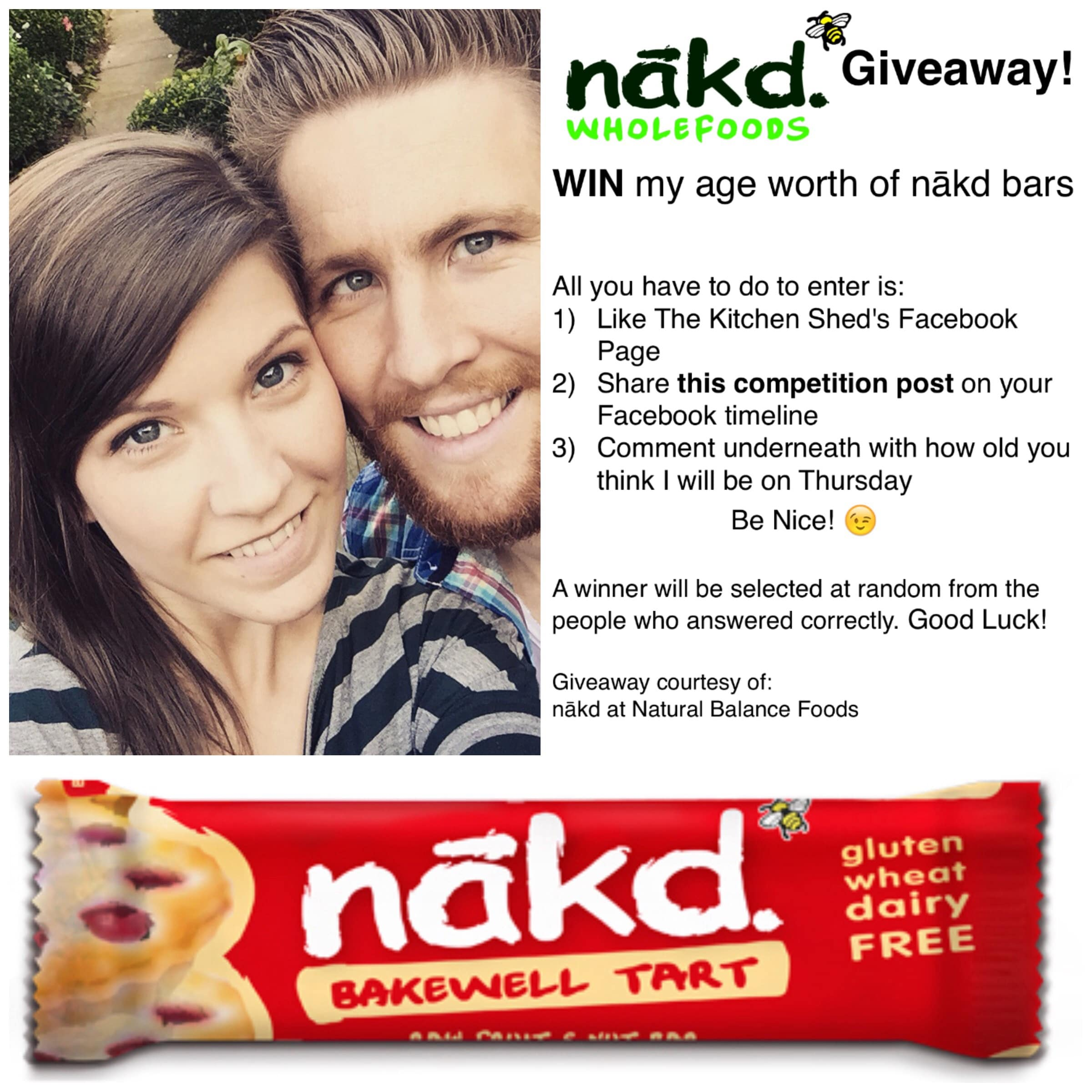 Nakd Bar Giveaway! www.thekitchenshed.co.uk