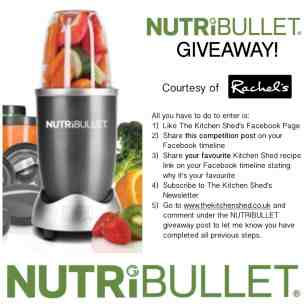 NutriBullet Giveaway! Birthday Giveaway #3