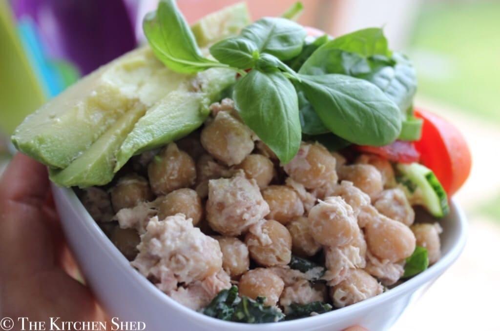 Clean Eating Tuna & Chickpeas