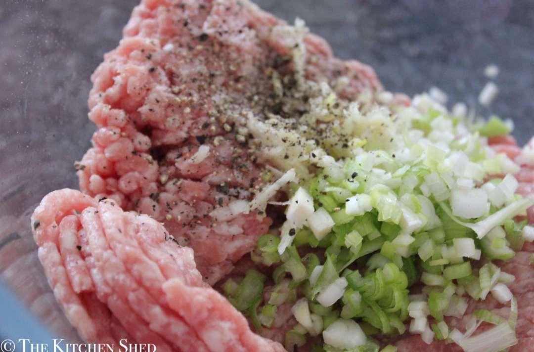 Clean Eating Fennel & Garlic Meatballs