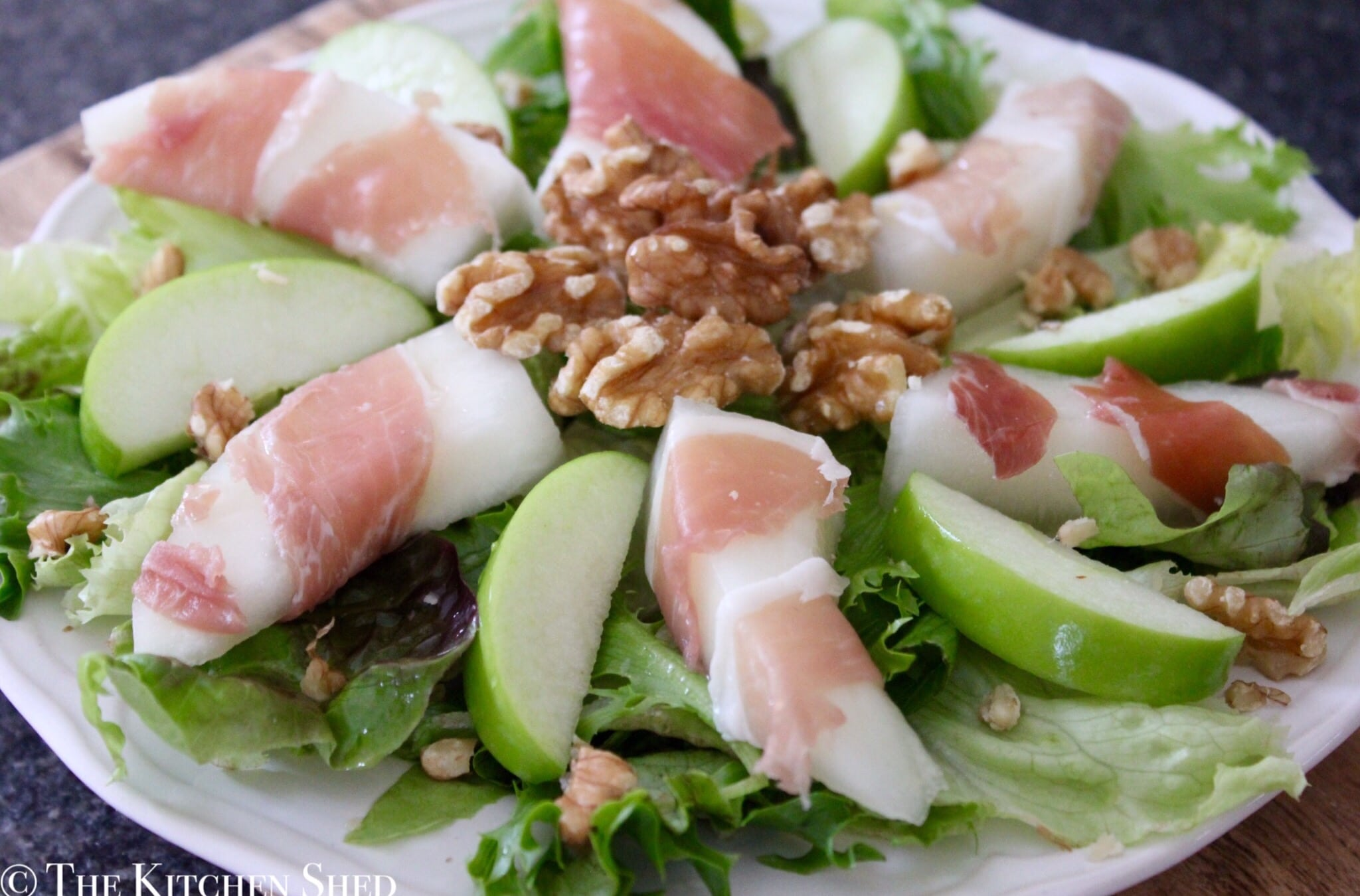 Clean Eating Melon & Prosciutto Salad