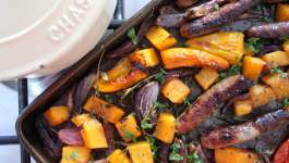 Clean Eating Sausage & Butternut Bake