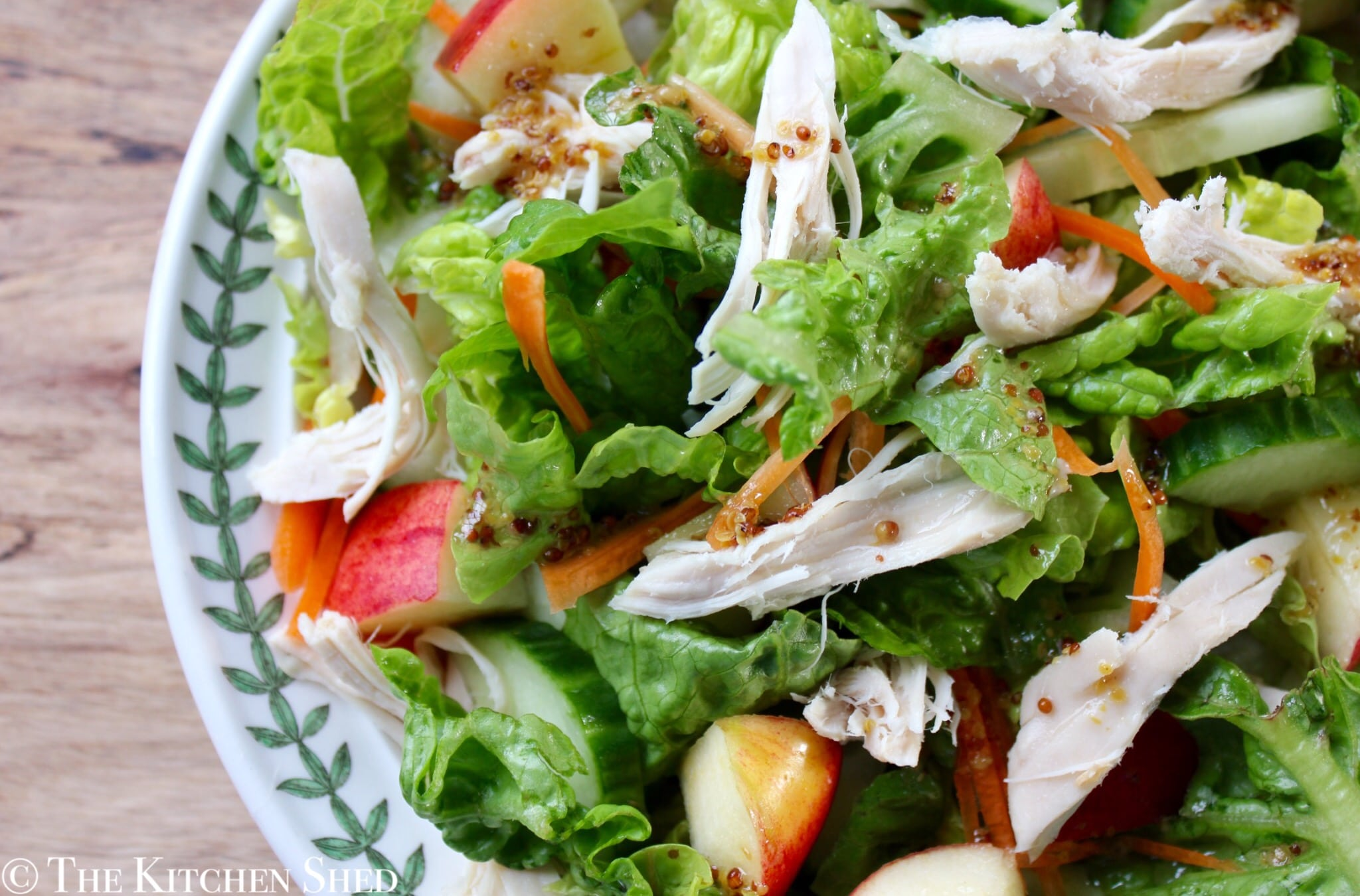 Clean Eating Winter Chicken & Apple Salad