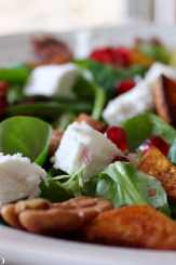 Clean Eating Cinnamon Spiced Sweet Potato Salad