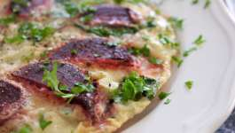 Clean Eating Beetroot & Goats Cheese Omelette 1