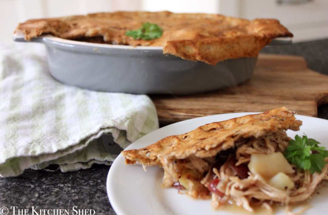 Clean Eating Turkey & Leek Pie (Boxing Day Pie)