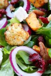 Clean Eating Charred Winter Vegetable Salad
