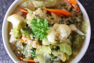 Clean Eating Quinoa Veggie Soup