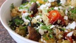 Clean Eating Summer Roasted Veggie Quinoa 1