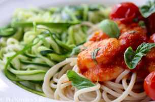 Clean Eating Paprika Prawns