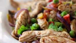 Clean Eating Chinese Turkey Pepper Stir Fry