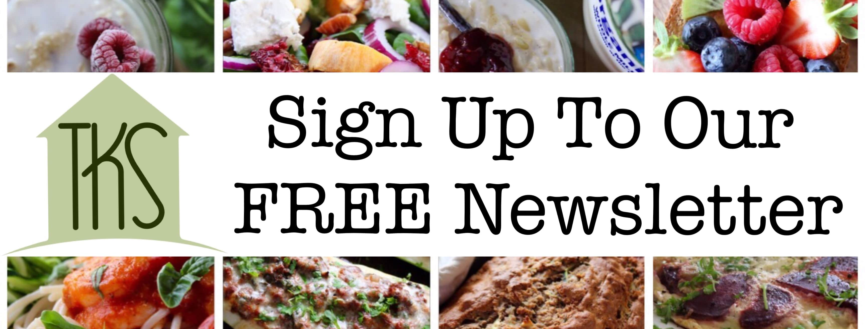 Newsletter and post update signup the kitchen shed join our 30 day challenge forumfinder Image collections